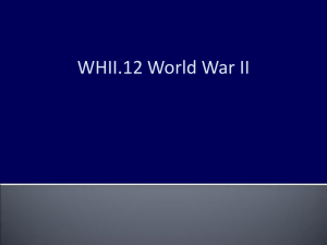 WHII.12 World War II
