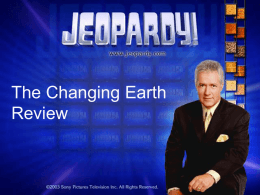The Changing Earth Review
