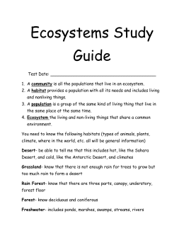 environmental science study guide Environmental science ap environmental science environmental science worksheets environmentalscience honors environmental science chapter 1 study guide.