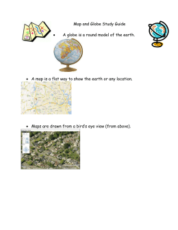 Map and Globe Study Guide
