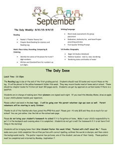 The Daly Weekly: 8/31/15-9/4/15