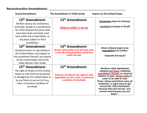 Bill of Rights Poster Project