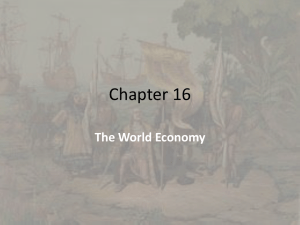 Chapter 16 The World Economy