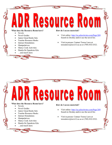 What does the Resource Room have? How do I access materials?