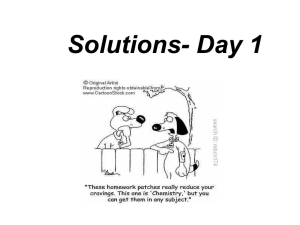 Solutions- Day 1