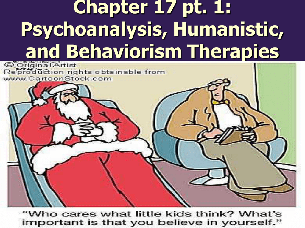 humanistic vs psychoanalytic