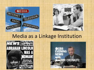 Media as a Linkage Institution