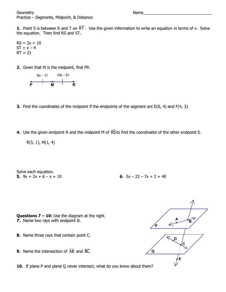 What is the name of the segment connecting the two points of the circle 93