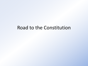 Road to the Constitution