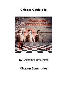 Chinese Cinderella  By: Chapter Summaries