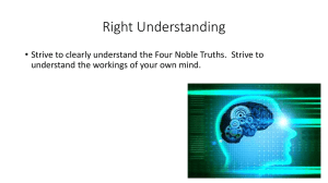 Right Understanding