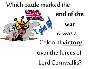 Which battle marked the & was a victory over the forces of