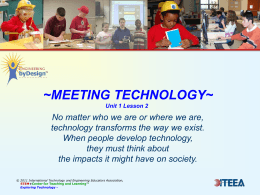 ~MEETING TECHNOLOGY~