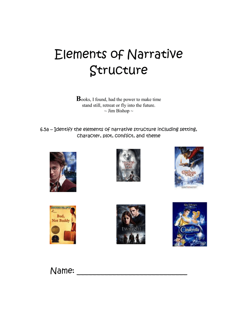 Elements of Narrative Structure B
