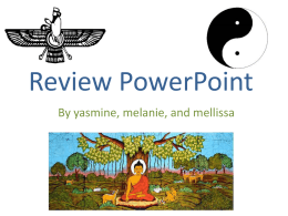Review PowerPoint By yasmine, melanie, and mellissa