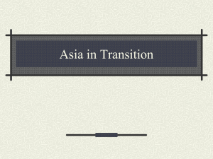 Asia in Transition
