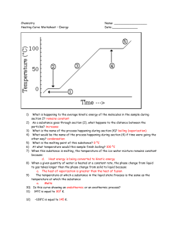 Worksheets Heating Curve Worksheet heating curve worksheet delibertad physical science chapter 3 states of matter curve