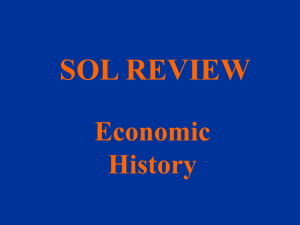 SOL REVIEW Economic History