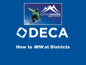 WIN How to at Districts