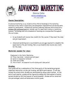 Donna Celio  Course Description: