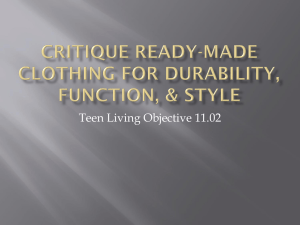 Teen Living Objective 11.02