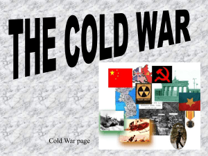 Cold War page