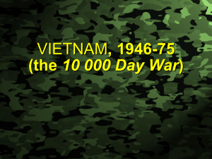 , 1946-75 10 000 Day War Slide 1