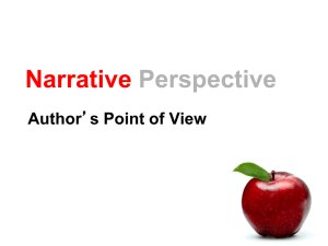 Narrative Perspective Author