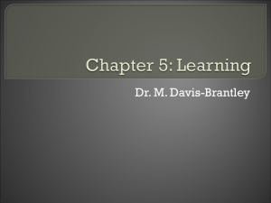 Dr. M. Davis-Brantley