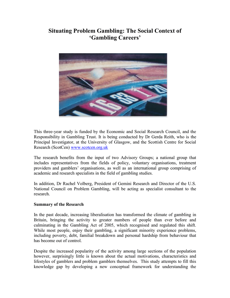 Gambling and problem gambling in britain gambling age in united states