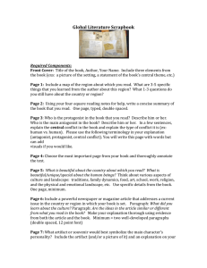 Global Literature Scrapbook