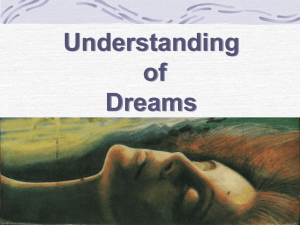 Understanding of Dreams