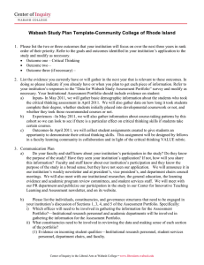 Wabash Study Plan Template-Community College of Rhode Island
