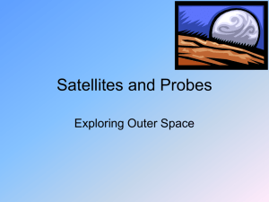 Satellites and Probes Exploring Outer Space