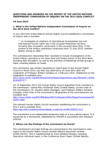 QUESTIONS AND ANSWERS ON THE REPORT OF THE UNITED NATIONS