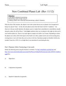 New Combined Planet Lab  (Rev 11/12)