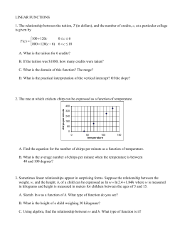application of linear functions in economics In economics, we often use linear supply and demand functions to make  calculations this makes it easier to work with them, which in turn allows us to  analyze.