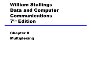 William Stallings Data and Computer Communications 7