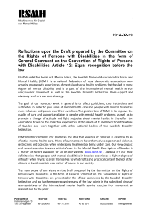 2014-02-19 Reflections  upon  the  Draft  prepared ... the  Rights  of  Persons  with ...