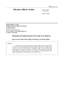 A Advance edited version  Human Rights Council