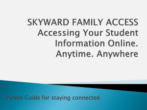 Parent Guide for staying connected