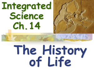 The History of Life Integrated Science