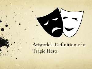 Aristotle's Definition of a Tragic Hero