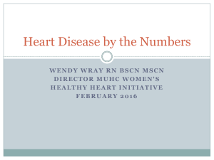 Heart Disease by the Numbers