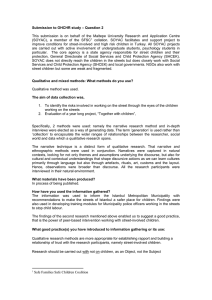 – Question 2 Submission to OHCHR study