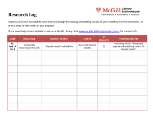 Research Log