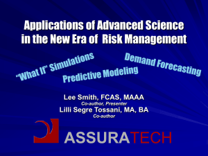 ASSURA TECH Applications of Advanced Science