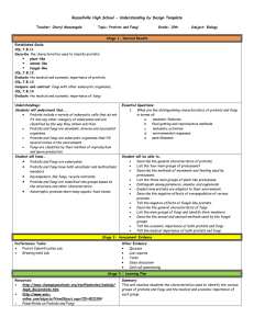 Russellville High School - Understanding by Design Template