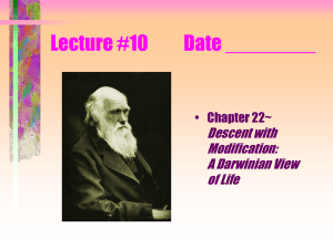 Lecture #10 Date ________ Descent with Modification: