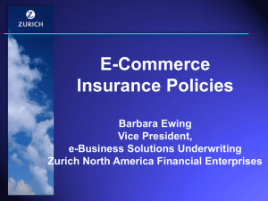 E-Commerce Insurance Policies